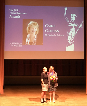 Carol-Curran_Phoenix-Data-Corp_Indiana-Torchbearers-Award